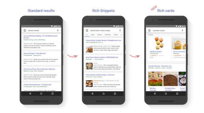 Refonte Google Search