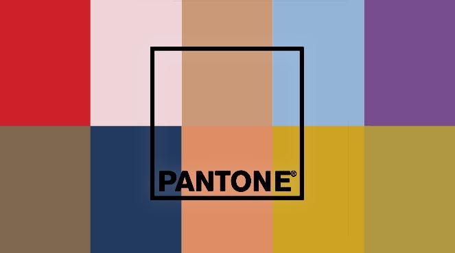 Les couleurs Pantone de l'automne