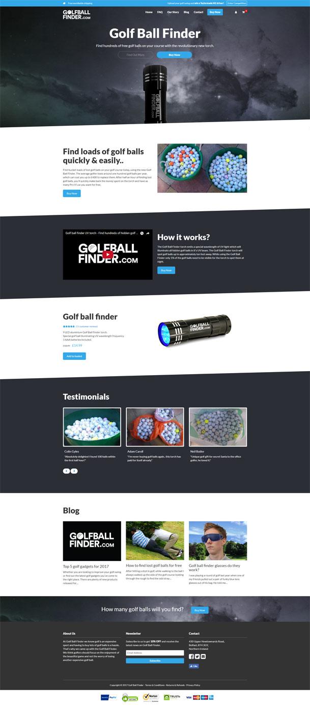 Golfballfinder.com