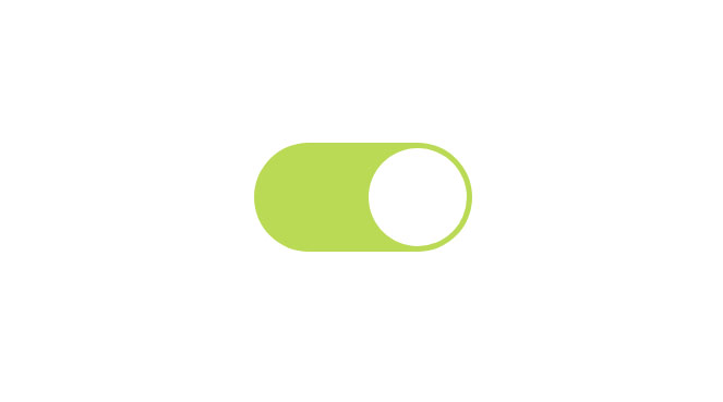 Toggle Switch 100% CSS